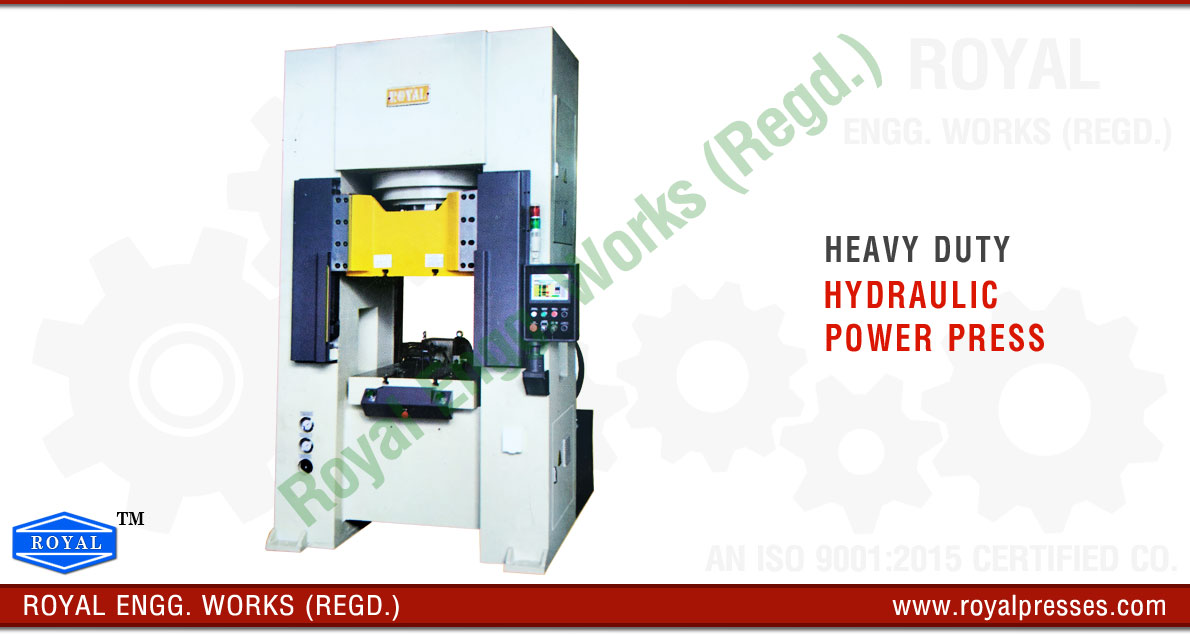 Hydraulic Power Press manufacturers exporters suppliers in india punjab ludhiana
