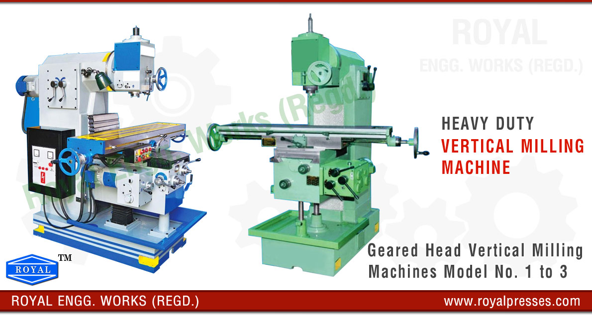 vertical milling machine manufacturers exporters suppliers in india punjab ludhiana