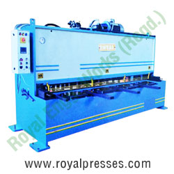 Hydraulic Shearing Machine manufacturers exporters suppliers in india punjab ludhiana