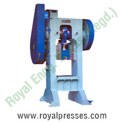 h frame pillar power press manufacturers exporters suppliers in india punjab ludhiana