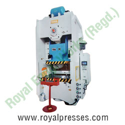 Straight Side Single Crank Power Press manufacturers exporters suppliers in india punjab ludhiana