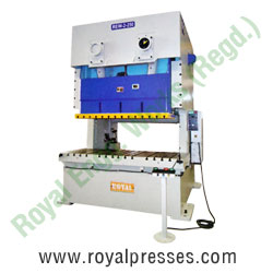 Double Crank Cross Shaft Power Press manufacturers exporters suppliers in india punjab ludhiana